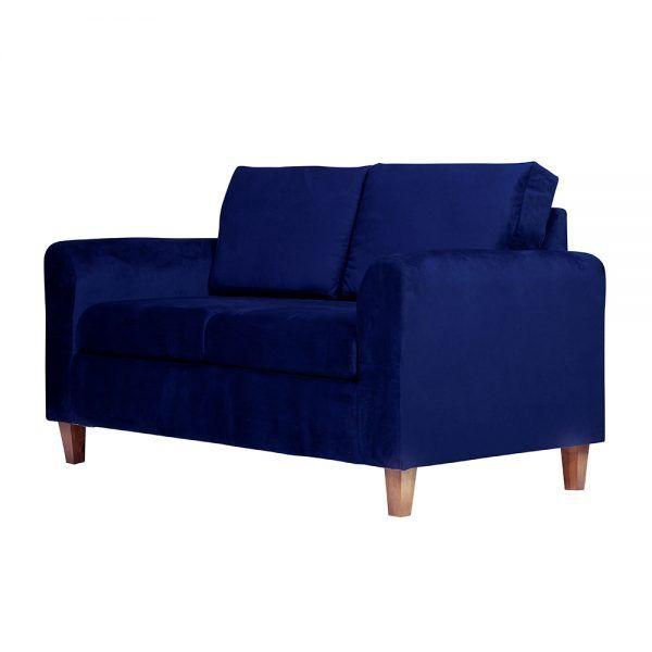 Sofa Delfos 2 Cuerpos Azul 3