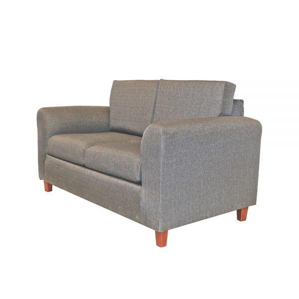 Sofa Delfos 2 Cuerpos Gris 2