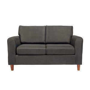 Sofa Delfos 2 Cuerpos Gris Oscuro 1