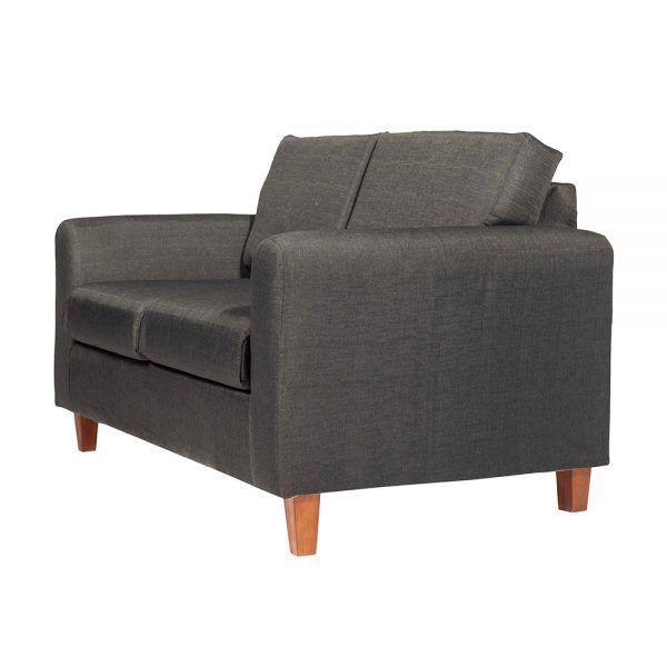 Sofa Delfos 2 Cuerpos Gris Oscuro 3