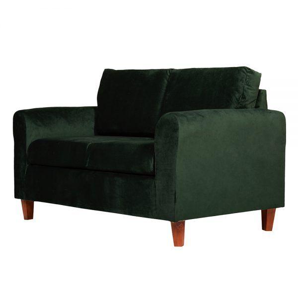 Sofa Delfos 2 Cuerpos Verde 3