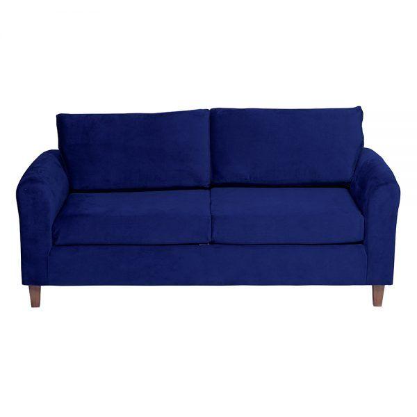 Sofa Delfos 3 Cuerpos Azul 2