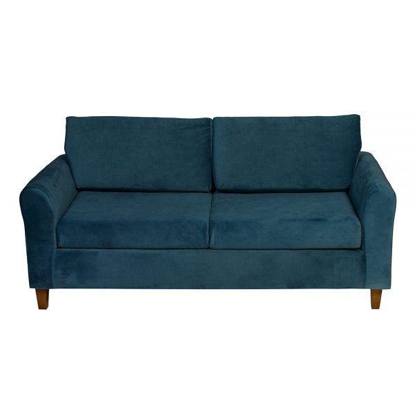 Sofa Delfos 3 Cuerpos Petroleo 2