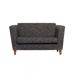 Sofa Miconos 2 Cuerpos Gris Oscuro 1