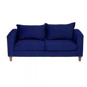 Sofa Naxos 3 Cuerpos Azul 2