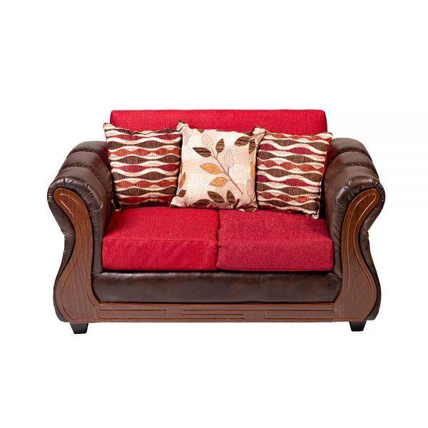 Sofa Richmond 2 Cuerpos Rojo 2