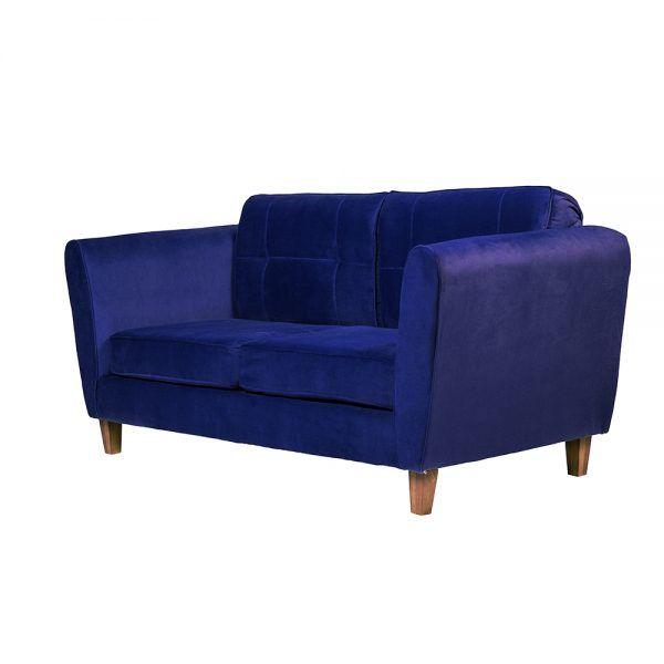Sofa Rodas 3 Cuerpos Azul 3