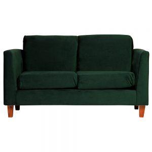 Sofa Zante 2 Cuerpos Verde 1