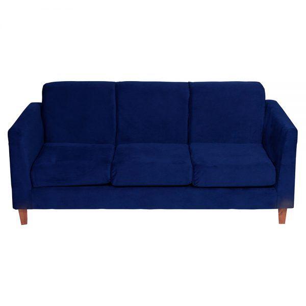 Sofa Zante 3 Cuerpos Azul 2