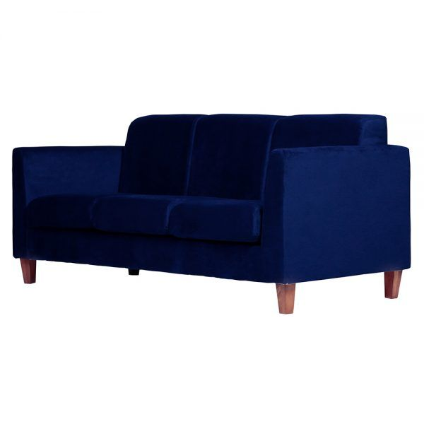 Sofa Zante 3 Cuerpos Azul 3