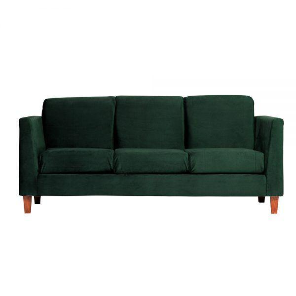 Sofa Zante 3 Cuerpos Verde 1