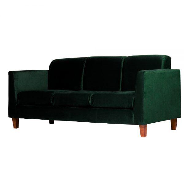 Sofa Zante 3 Cuerpos Verde 3